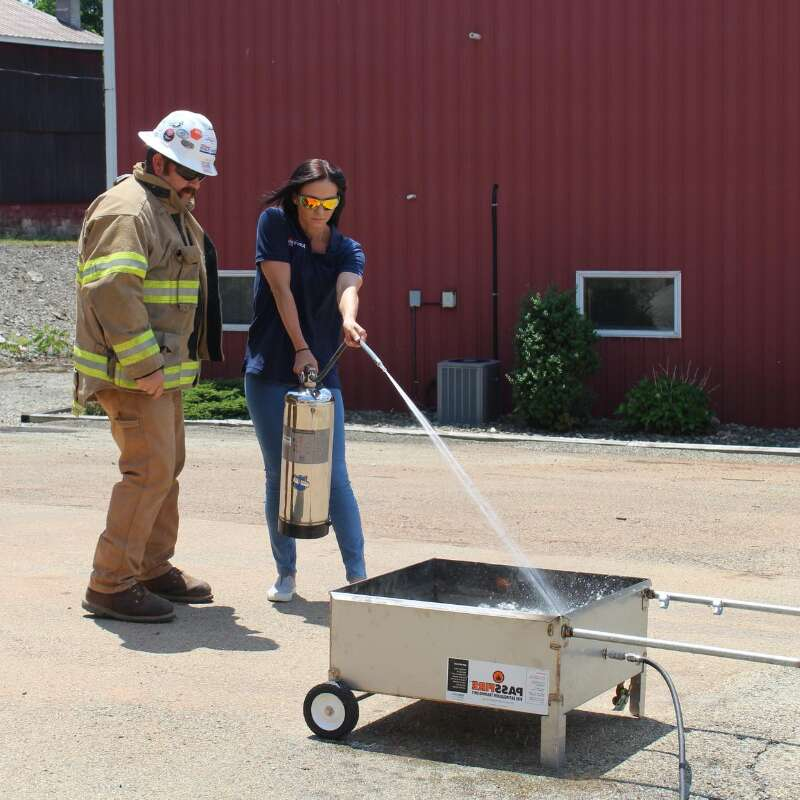 Fire Extinguisher Safety Training Sweep