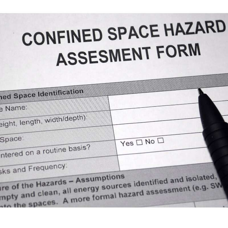 Confined Space Pre Planning
