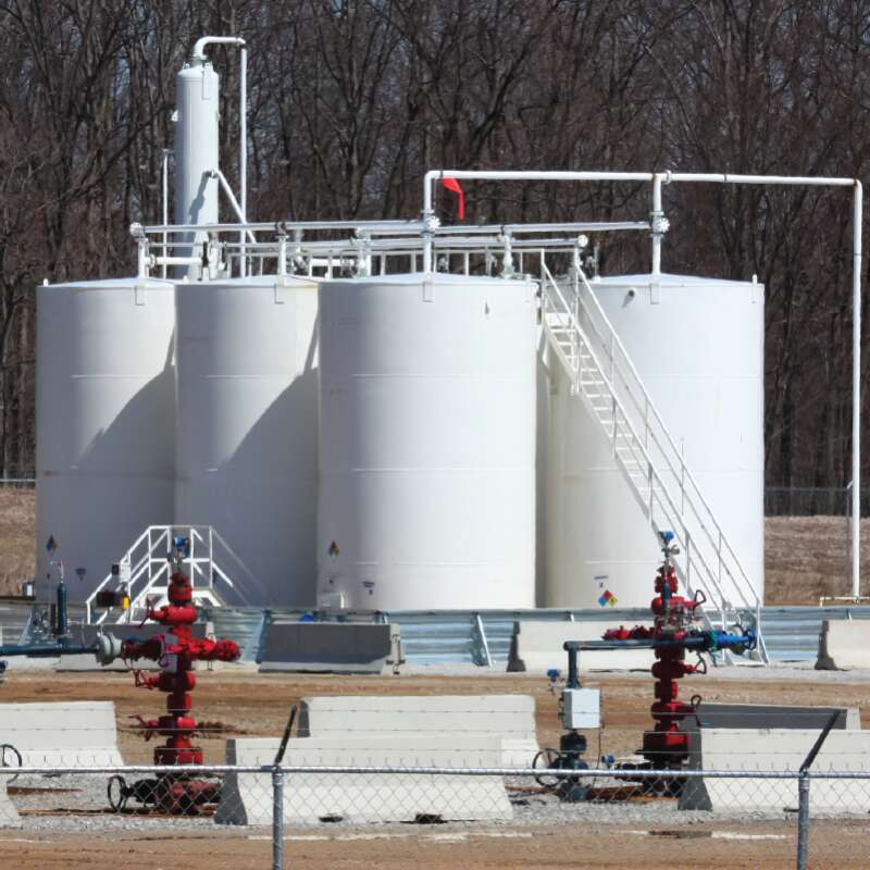 Marcellus Shale Well Pad