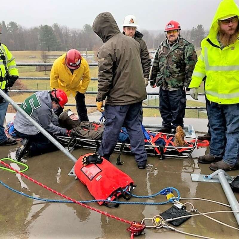 Confined Space Standby Rescue Training